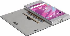 Krusell Malmo Sony Xperia XA1 Book Case Blauw