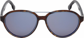 Diesel DL0214 52X Dark Havana / Blue Mirror