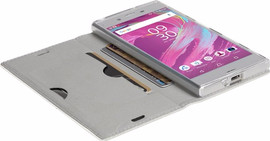 Krusell Malmo Sony Xperia XA1 Book Case Wit