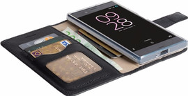 Krusell Sunne Sony Xperia XA1 Book Case Zwart