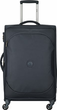 Delsey U-Lite Classic 2 4 Wheel Trolley Case 68 cm Antraciet