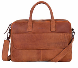 DSTRCT Wall Street Workingbag 17'' Cognac