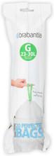 Brabantia Afvalzak Code G - 23-30 Liter (20 stuks)