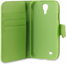 Xqisit Wallet Case Samsung Galaxy S4 Green