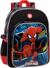 Spiderman Blue City Backpack