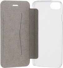 Xqisit Adour Flap Cover iPhone 7/8 Zwart