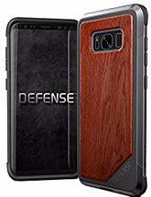 X-Doria Defense Lux Rosewood Galaxy S8 Plus Back Cover Zwart