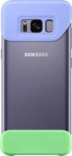 Samsung Galaxy S8 2Piece Cover Blauw/Groen