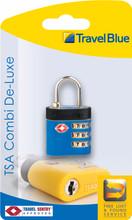 Travel Blue TSA Combi De-Luxe Slot Blauw