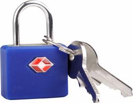 Travel Blue TSA Identity Slot Blauw