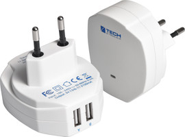 Travel Blue Wall Chargers - Europa
