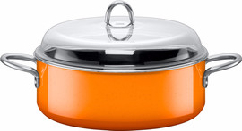 Silit Stoofpan Passion Orange 6 Liter