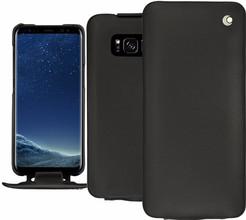 Noreve Tradition Samsung Galaxy S8 Plus Flip Case Zwart