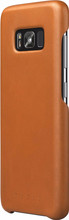 Mujjo Leather Case Galaxy S8 Back Cover Bruin