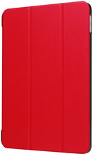 Just in Case Apple iPad (2017) Smart Tri-Fold Case Rood