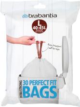 Brabantia Afvalzak Code L - 40-45 Liter DP (30 stuks)