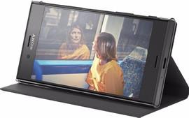 Sony Xperia XZs Style Book Case Zwart