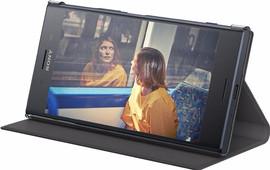 Sony Xperia XZ Premium Style Book Case Zwart