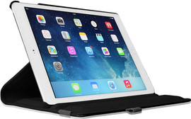 Just in Case Apple iPad (2017) 360 Rotating Hoes Zwart