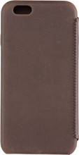 Senza Raw Skinny Leather iPhone 6/6S Book Case Bruin