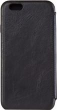 Senza Pure Skinny Leather iPhone 6/6S Deep Book Case Zwart