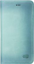 Senza Desire Leather iPhone 7/8 Book Case Blauw
