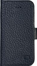 Senza Exquisite Leather Wallet iPhone 6/6s Book Case Zwart