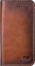 Senza Desire Leather iPhone 5/5S/SE Book Case Bruin