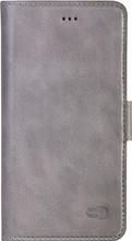 Senza Pure Leather Wallet iPhone 7+/8+ Book Case Grijs