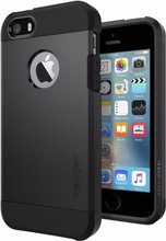 Spigen Tough Armor Apple iPhone 5/5S/5SE Zwart