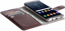 Krusell Ekero 2 in 1 Wallet Galaxy S8 Book Case Bruin