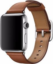 Apple Watch 42mm Klassiek Lederen Polsband Bruin