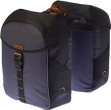 Basil Miles Double Bag 34L Black