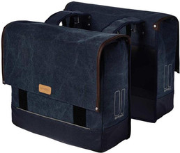 Basil Urban Fold Dubbel Bag 55L Denim Blauw