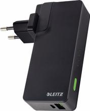 Leitz Complete USB Reislader + Powerbank 3000 Zwart