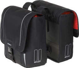 Basil Sport Design Double Bag 32L Zwart