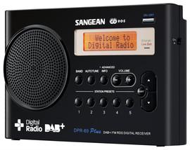 Sangean DPR-69 Zwart