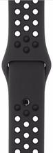 Apple Watch 38mm Polsband Nike Sport Antraciet/Zwart