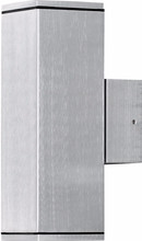 Konstsmide Monza Wand XL Zilver 2 Lichtpunten