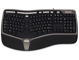 Microsoft Bedraad Natural Ergonomic 4000 Toetsenbord Qwerty