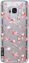 Casetastic Softcover Galaxy S8 Flamingo Party