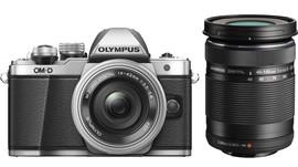 Olympus OM- D E-M10 Mk II Zilver + 14-42mm IIR + 40-150mm R