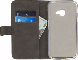 Mobilize Classic Gelly Wallet Galaxy Xcover 4 Book Case Zwar