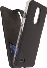 Mobilize Classic Gelly LG K8 (2017) Flip Case Zwart