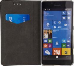 Mobilize Premium Gelly Microsoft Lumia 950 Book Case Zwart