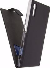 Mobilize Classic Gelly Sony Xperia XZs Flip Case Zwart
