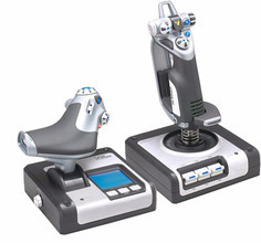 Logitech G Saitek X52 PC Flight Control System USB