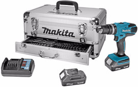 Makita HP457DWEX9 + Accessoire set