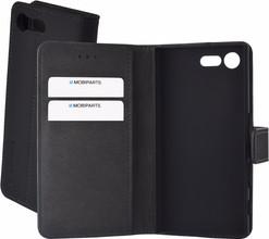 Mobiparts Premium Wallet Case Xperia X Compact Zwart