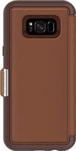 Otterbox Strada Galaxy S8 Plus Book Case Bruin